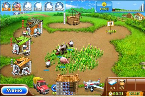 Веселая Ферма 2 / Farm Frenzy 2 v1.6 RUS iPhone/iPod Touch.