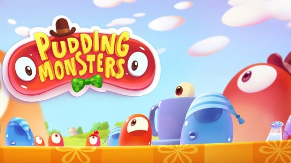 Pudding Monsters - вырасти мега-монстра