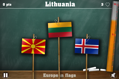 Отгадывания флагов